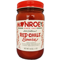 Monroe's Red Chile  Sauce - CASE (twelve 16 oz. Jars)