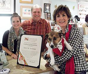 Catie, Larry, Ben and Michelle, November 2015.