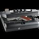 GUN VAULT - MICROVAULT - 20 GA STEEL, NO EYES KEYPAD, MOUNTABLE - MV 500