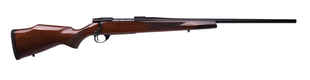 "Weatherby - 300WbyMag - Vanguard Sporter Deluxe - High Gloss ""A"" Turkish Walnut/Matte Blued, 24""Barrel, Rosewood forend cap, 1:10"
