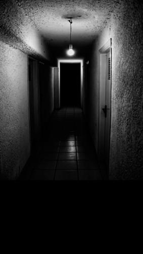 Dark Basement Hallway