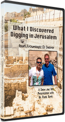 What I Discovered Digging in Jerusalem by Eli Shukron (with Frank Turek)  (DVD)