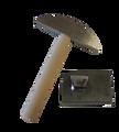 Steel Hammer and Steel Tabletop Hardie