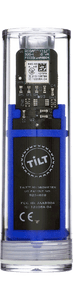 Tilt™ Hydro & Thermometer Blue