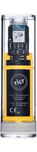 Tilt™ Hydro & Thermometer Yellow