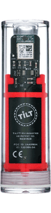 Tilt™ Hydro & Thermometer Red