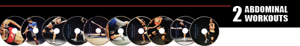 2 Kbands Burn Abdominal DVD Workouts