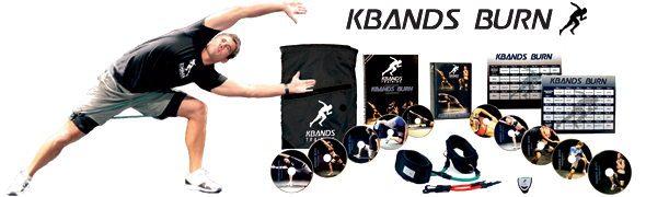 Kbands Burn Includes 10 Workout DVDs