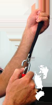 Reactive Stretch Cord Anchor Clip