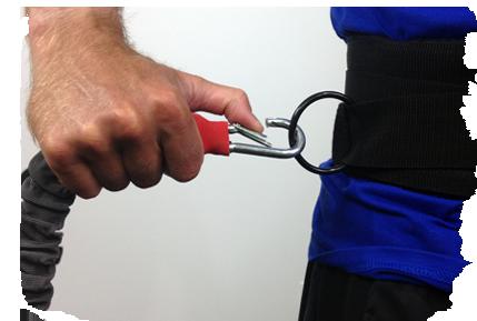 Reactive Stretch Cord Clip