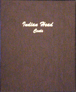 Dansco Album #7101- Indian Cents 1856-1909