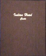 Dansco Album #7101- Indian Cents 1856-1909