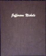 Dansco Album #7113- Jefferson Nickels 1938- 2005