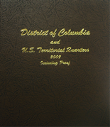 Dansco Album #8145- D.C. and Territorial Quarters 2009 with Proof
