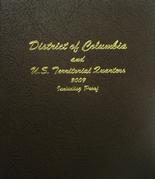 Dansco Album #8145- D.C. and Territorial Quarters 2009 with Proof