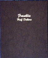 Dansco Album #7165- Franklin Half Dollars 1948-1963