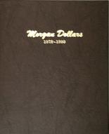Dansco Album #7178- Morgan Dollars 1878-1890
