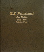 Dansco Album #8184- Presidential Dollars 2007-2011 with Proof Vol.1