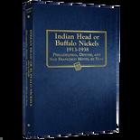 Whitman Album #9115 - Buffalo Nickels 1913-1938