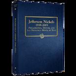 Whitman Album #9116 - Jefferson Nickels 1938-2003
