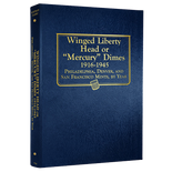 Whitman Album #9118 - Mercury Dimes 1916-1945