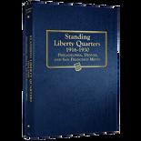 Whitman Album #9121 - Liberty Standing Quarters 1916-1930
