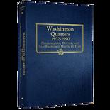 Whitman Album #9122 - Washington Quarters 1932-1990 P,D&S