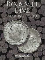 H.E. Harris Folder: Roosevelt Dimes #3 2000-Date