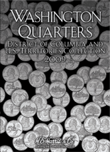 H.E. Harris Folder: State Quarters Vol.3-Territorial- 2009 P&D