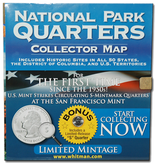Whitman National Park Quarters Map