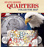 Whitman State Quarters Map