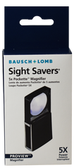 Bausch & Lomb Packette Slide-Out Magnifier 5X