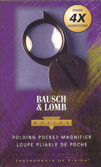 Bausch & Lomb Pocket Magnifier Pocket 4X