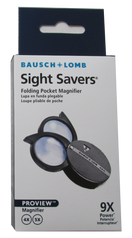 Bausch & Lomb Pocket Magnifier Pocket Two Lenses 4X - 9X