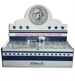 HE Harris Round Tubes for SBA/Sacagawea/Presidential Dollars