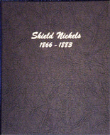 Dansco Album #6110 - Shield Nickels 1866-1883