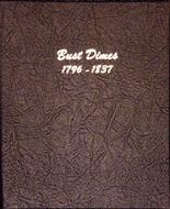 Dansco Album #6121 - Bust Dimes 1796-1837