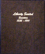 Dansco Album #6142 - Liberty Seated Quarters 1838-1891