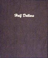 Dansco Album #7157 - Half Dollars - Plain