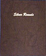 Dansco Album #7084 - Silver Rounds - Plain