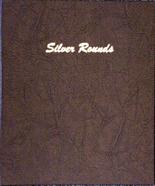 Dansco Album #7084 - Silver Rounds - Plain