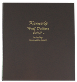 Dansco Album #8167- Kennedy Half Dollars 2012-2016 with Proof Vol.2