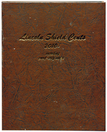 Dansco Album #8104- Lincoln Shield Cents 2010 - Date with Proof