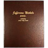 Dansco Album #8114- Jefferson Nickels 2006 - 2029P with Proof