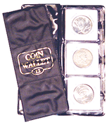 HE Harris Coin Wallet:12 Pockets