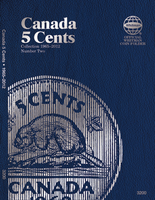 Whitman Folder - Canadian 5 Cents 1965-2012 Vol.2