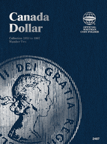 Whitman Folder - Canadian Dollar 1953-1967 Vol.2