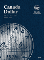 Whitman Folder - Canadian Dollar 1968-1984 Vol.3