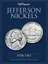 Warmans Folder: Jefferson Nickels 1938-1967