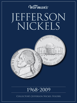 Warmans Folder: Jefferson Nickels 1968-2009